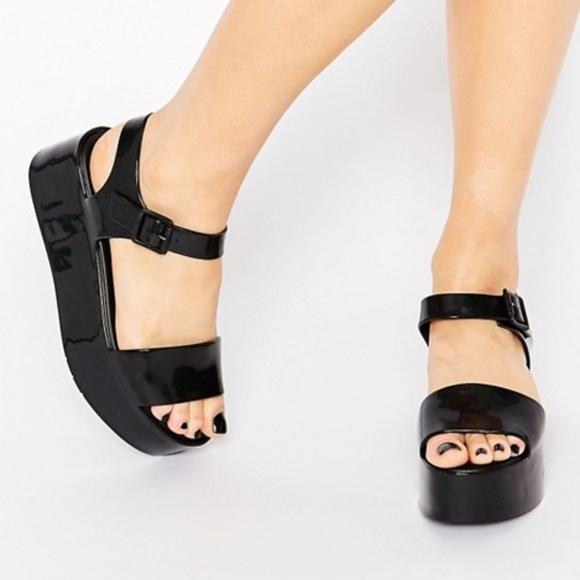 cde3f6a63ae Melissa Mar Ankle Strap Platform Flatform Sandals.  M 5bc7fa3a8ad2f91d12aebf22